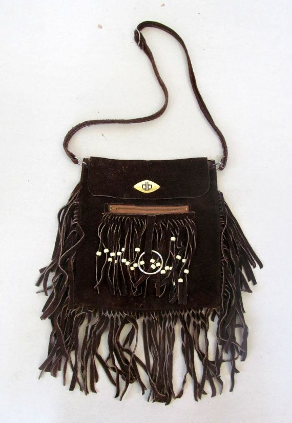 Vintage Hippie Purse / Boho Purse / 60's