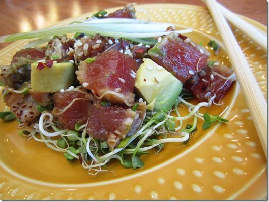 101 best okey poke images on pinterest tuna poke ahi for Big fish little fish poke
