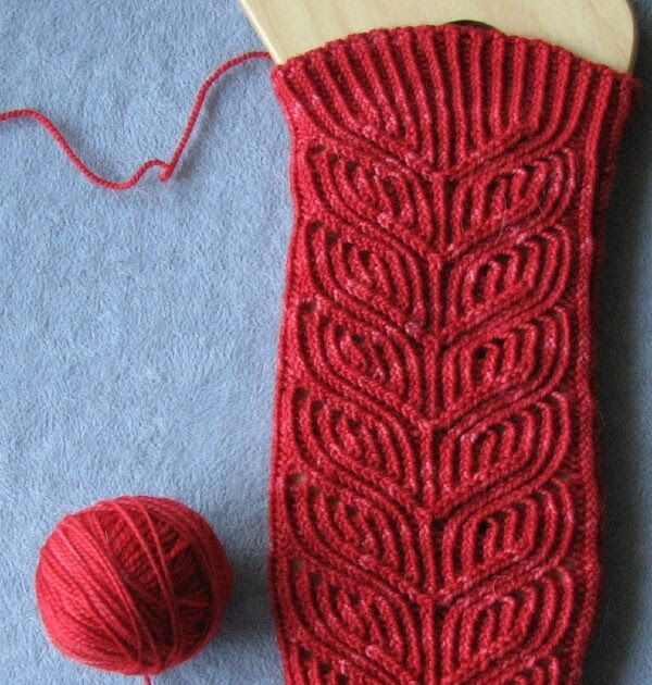 When a sock is 72 stitches around I assume I can knit it on 2.5mm needles and it's going to end up big on me, even if it has cables.  This a...