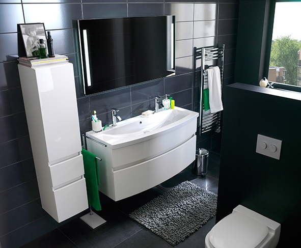 17 best images about meuble salle de bain on pinterest for Meuble sdb castorama