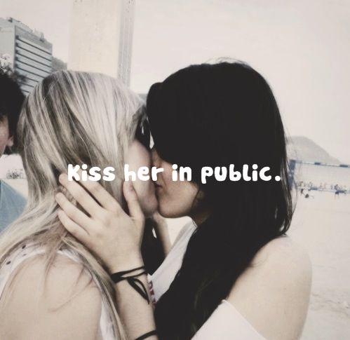 I want to kiss you in public and celebrate what we have. :)