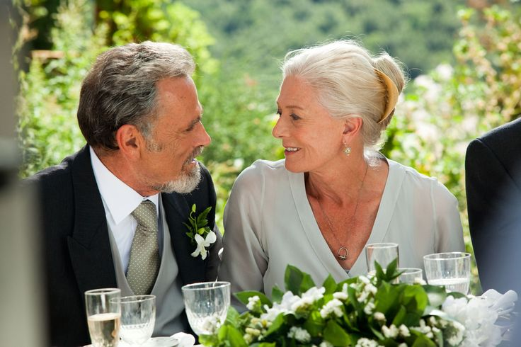 Franco Nero and Vanessa Redgrave in 'Letters to Juliet'----Lancelot and Guinevere together again!!
