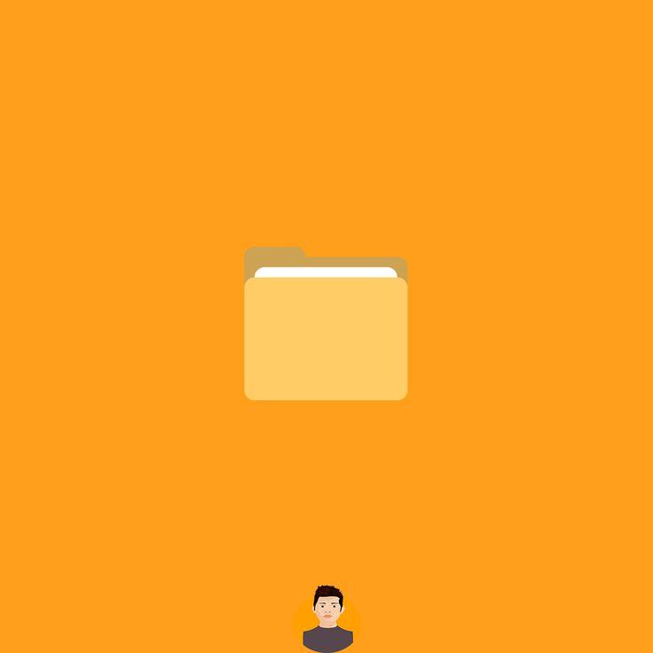 Carpeta  #jdao1796 #design #creative #resource #logo #graphicdesign #adobe #icono #logotipo #carpeta