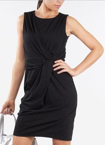 robe noire soiree etam la mode des robes de france. Black Bedroom Furniture Sets. Home Design Ideas