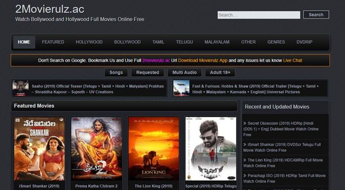 Movierulz Watch Download Telugu Bollywood Hollywood Movies In 2020 Download Movies Movie Website Telugu Movies