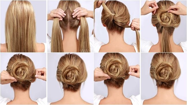 Fotos de moda | 3 Paso a paso: Peinados bellísimos y súper fáciles | http://soymoda.net