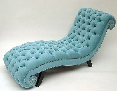 chaise : turquoise chaise lounge - Sectionals, Sofas & Couches