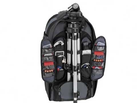 #Tamrac 5589 Expedition 9x #Photo #Backpack (Black). Tamrac's Expedition 9x is the latest offering in Tamrac's award-winning Expedition Series.  It was specifically designed to hold a DSLR with a long telephoto lens attached (such as 400mm, 500mm or 600mm) or an intermediate zoom lens (200mm or 300mm) attached, additional lenses, camera bodies, flashes and accessories. http://cameramallplus.com/clua