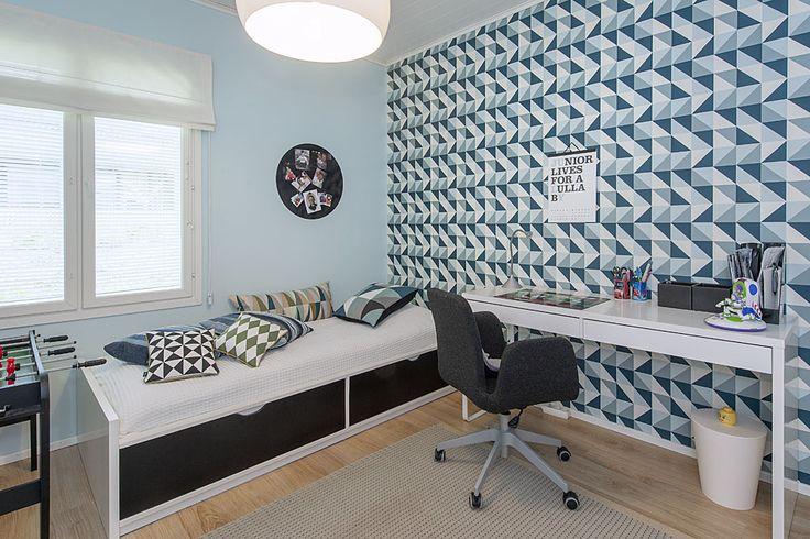 Boys room: Ferm Living Wall Paper