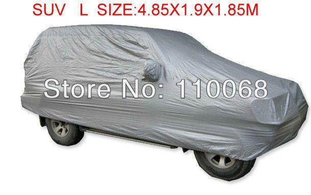 SUV L größe universal Auto abdeckungen für Mitsubishi HYUNDAI Hover Jeep Lexus Nissan Outlander Volkswagen wider schnee auto abdeckung