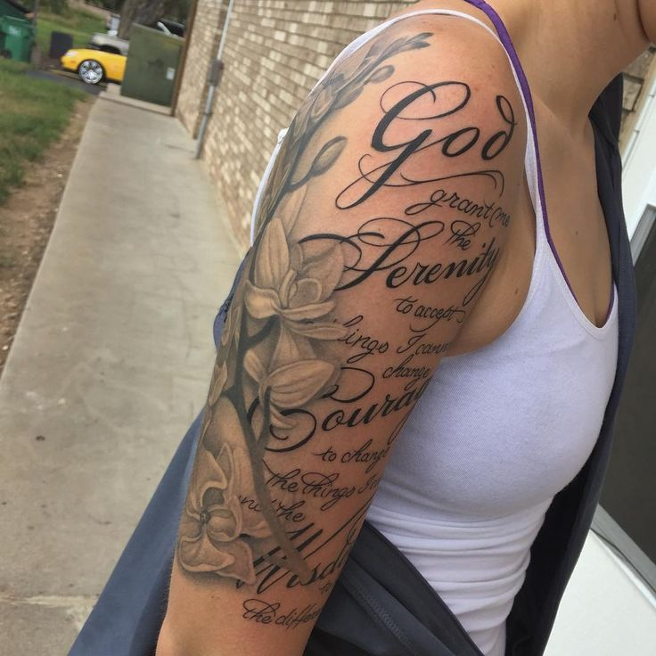 30 Inspiring Serenity Prayer Tattoo Designs-Serenity, Courage and Wisdom for a Prosperous Life Check more at http://tattoo-journal.com/best-serenity-prayer-tattoo/ #TattooIdeasForCouples