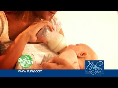 Nuby Natural Touch newborn range of breast care and feeding products to help and support you along the way