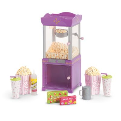 Movie Popcorn Machine | furntm | American Girl. Loving this at Our house.