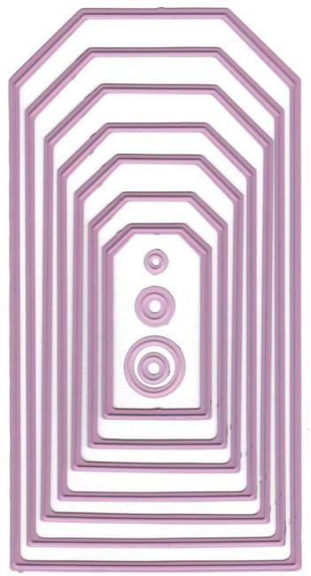 Nellie Snellen multi frame die - MFD076