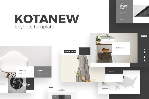 Kotanew Keynote Template @creativework247 Presentation Design - keynote template