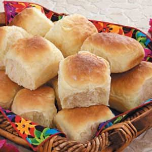 """Hawaiian Dinner Rolls Recipe- Recipes  """"Pineapple and coconut give a subtle sweetness to these golden rolls,"""" writes Kathy Kurtz of Glendora, Florida. """"If there are any leftovers, they're great for sandwiches."""""""