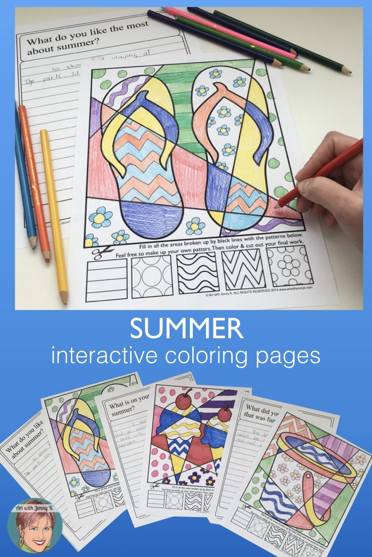 Five Fresh Fixes for End of Year Fatigue | Summer coloring pages ... | 1100x735