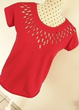 T-shirt - Santa Fée - rouge