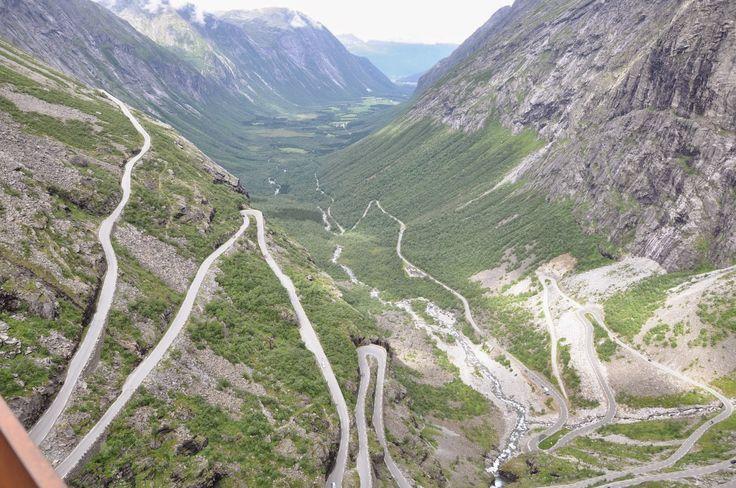 Cele mai frumoase locuri din Europa: Trollstigen