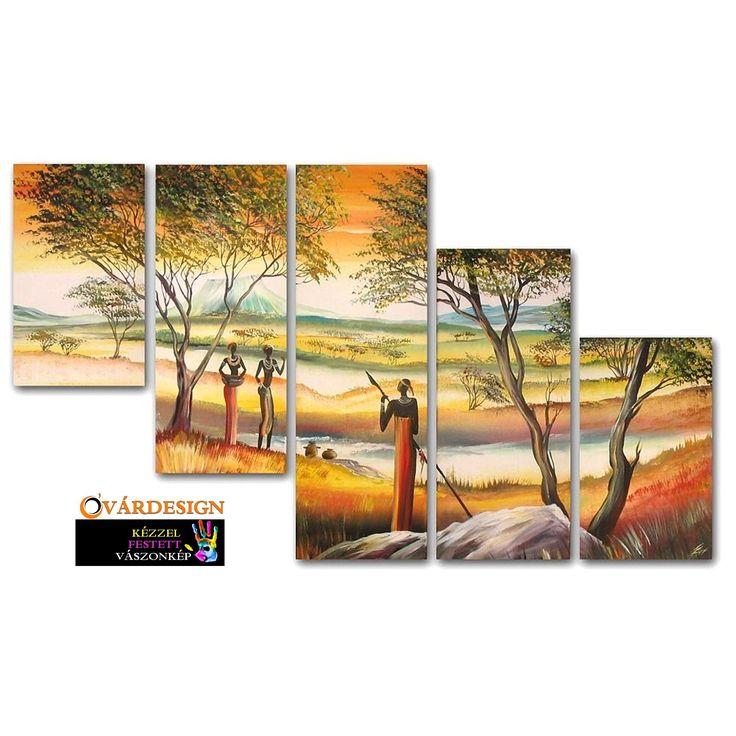 Az afrikai táj szépségét, az ősi törzsek kultúráját keltheted életre otthonod falain modern vászonképen. Óvárdesign vászonkép webáruház: www.ovardesign.hu