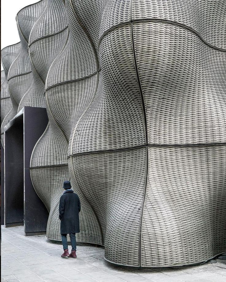 Entrance of Guy's Hospital, London, UK by Thomas Heatherwick