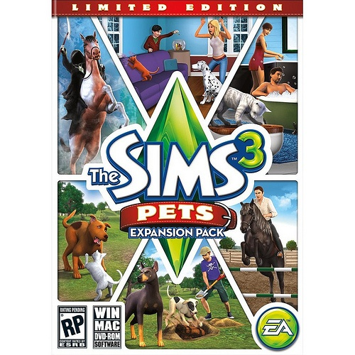 The Sims 3 - expansion pack - Pets  (I have sims 3 and sims 3 nightlife)
