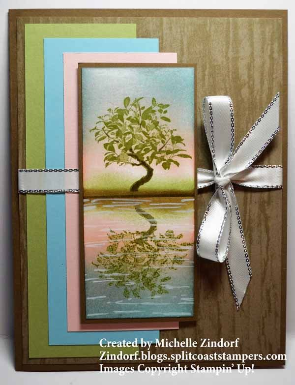 All The Good Things Reflection Stampin Up Card Zindorf Blogs