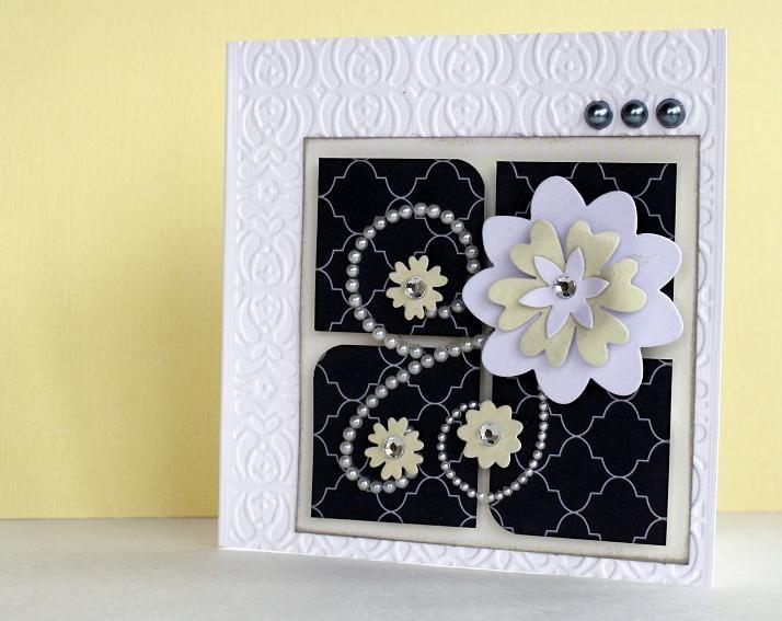 Blank wedding card - Scrapbook.com