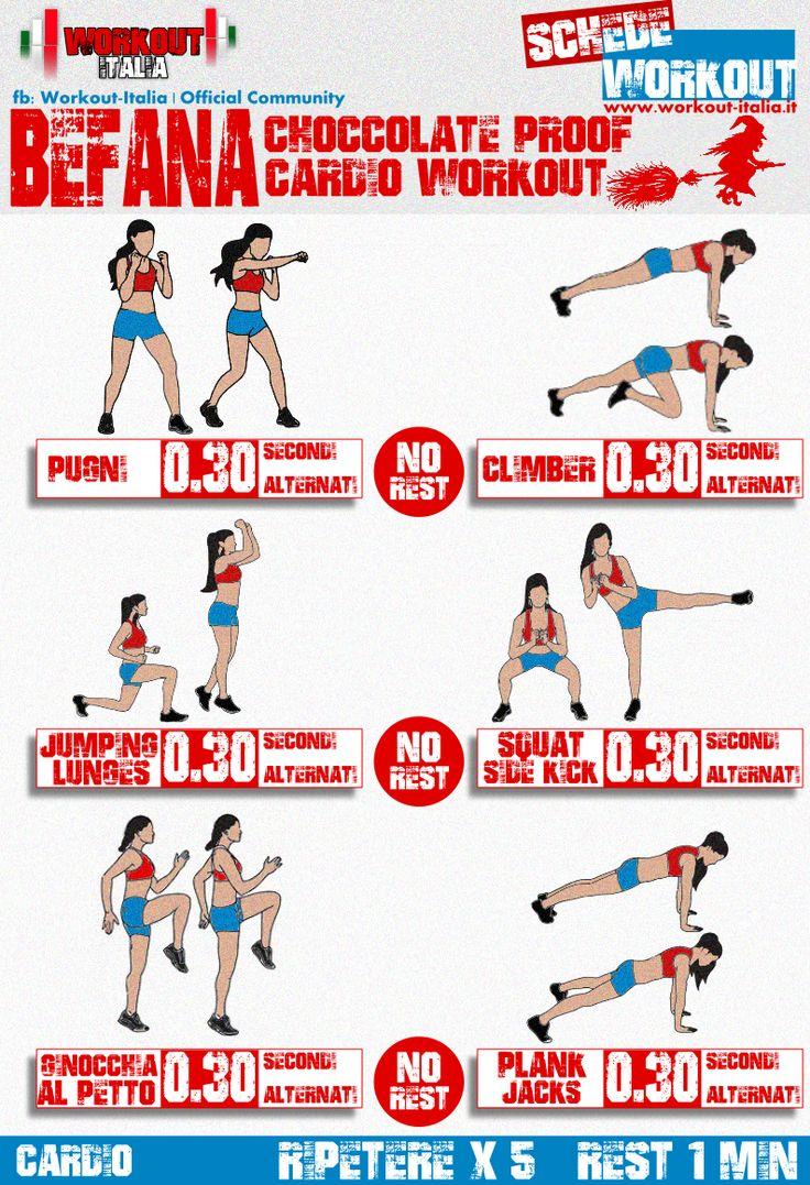 scheda workout befana