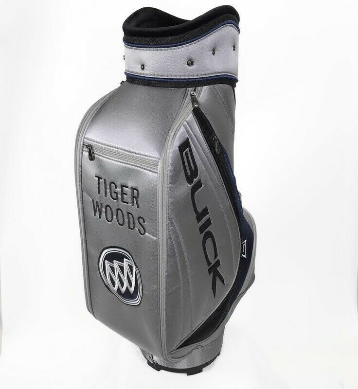 Parpadeo Revisión La base de datos  Details about Tiger Woods Nike Golf Buick Cart Staff Bag Stitched ...
