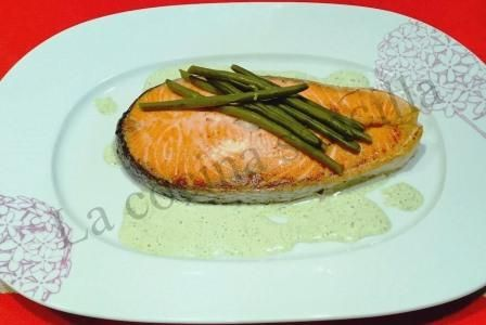Es el #salmón uno de los pescados… http://lasrecetasdejuanito.blogspot.com.es/2015/01/salmon-la-judia-verde_27.html
