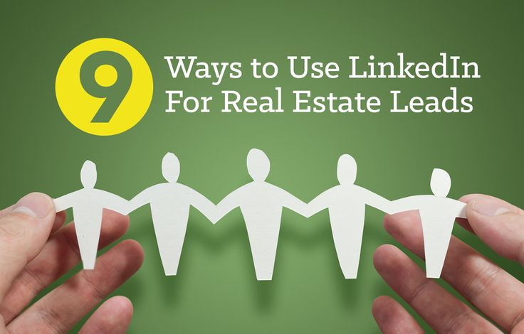 LinkedIn is a powerful social media outlet you can use to connect with leads. Use these 9 tips to increase real estate lead generation using LinkedIn: http://plcstr.com/1yAlB4S #realestate