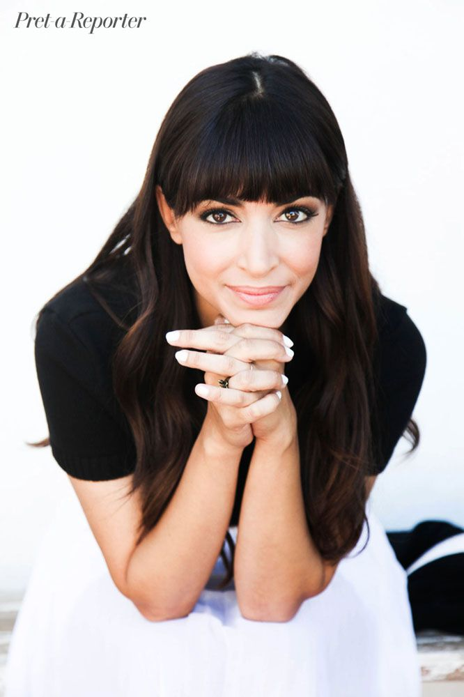 Decked Out: Hannah Simone's Global Sense of Style