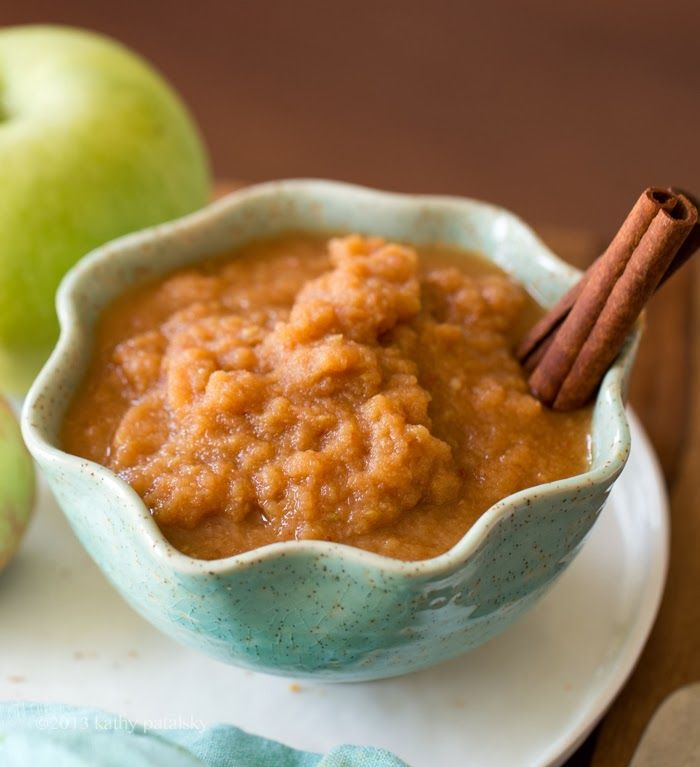 60-Second Applesauce. Raw or Simmered + Maple-Cinnamon. | lunch box ...