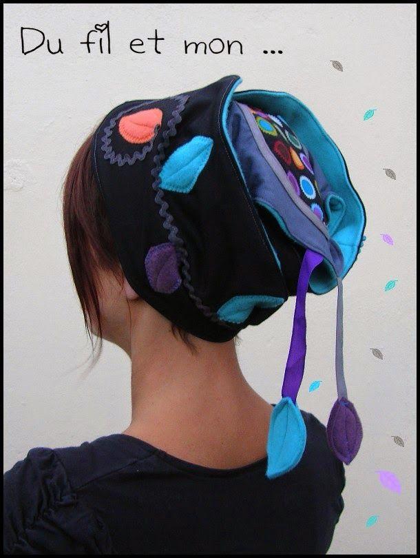 Du fil et mon turban accessoire cheveux couture for Accessoire couture