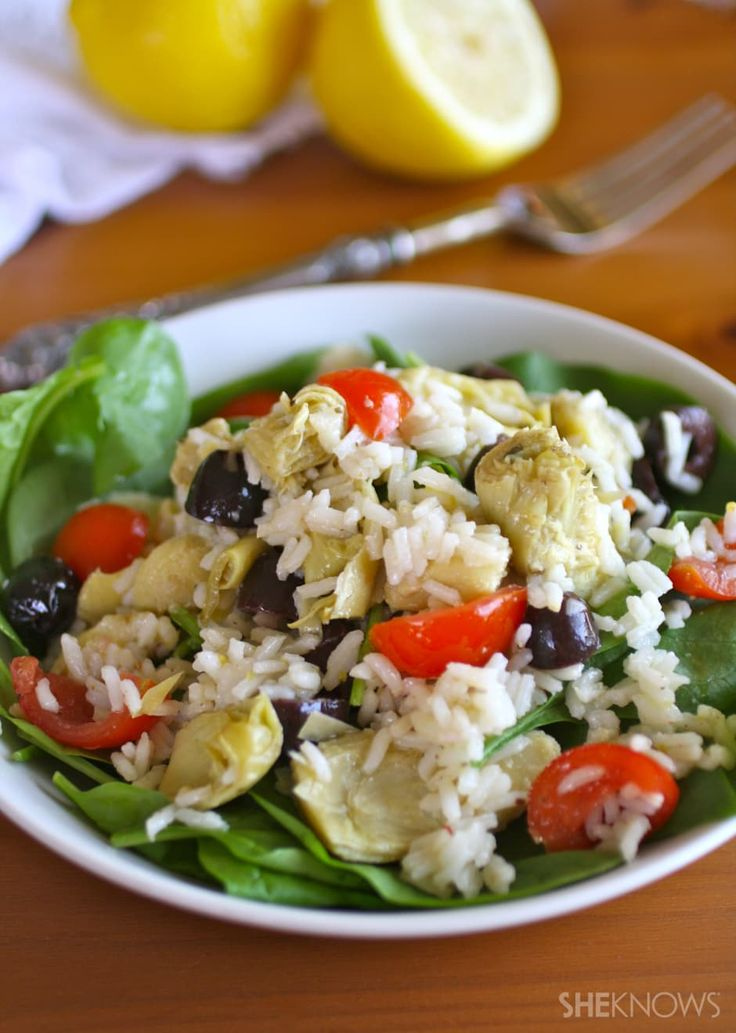 A gluten-free, grain-filled salad makes a perfect light summer meal