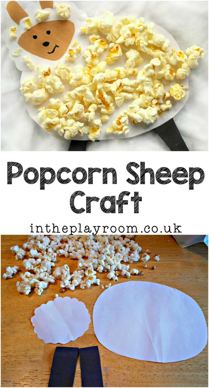 This popcorn Sheep, or lamb (whichever you prefer!) is a fun and cute craft to make with kids. My boys love to eat popcorn when we go to the cinema, but we don't often use it for crafting so this idea has a great novelty factor for them. Your kids are sure to enjoy making …