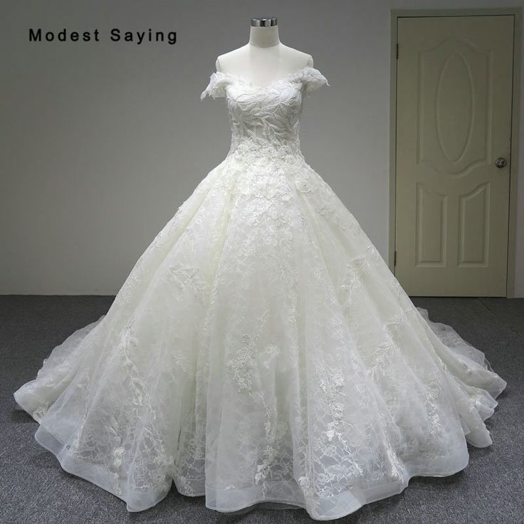 Find More Wedding Dresses Information about Luxury Dubai Ball Gown Lace Wedding Dresses 2018 with Sparkles Isreal Royal Church Bridal Gowns with Cathedral Train Custom Made,High Quality lace wedding dress,China wedding dress Suppliers, Cheap lace wedding from modest saying Lacebridal Store on Aliexpress.com
