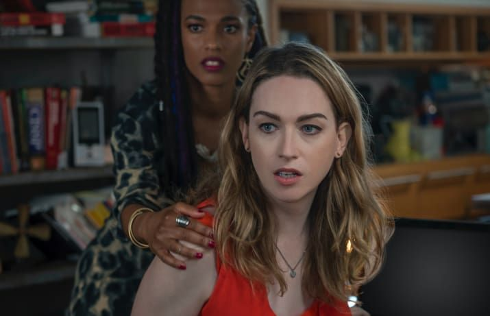 """""""She is the first and only trans character I've seen whose plotline and character development had nothing to do with being transgender, instead focusing on her relationship with Amanita and her abilities as a hacker.""""– hannahcanela""""Jamie Clayton does an awesome job playing a badass political blogger and hacker. Nomi fights for what she believes is right – even if it means breaking the law. Netflix please just give us back Sense8, the most iconic LGBT show ever made.""""– Chris, emailWatch it…"""