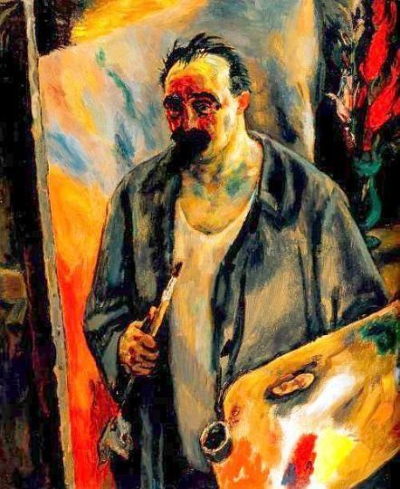 "Jan Sluyters (1881-1957), Hertogenbosch, Netherlands. ""Self-Portrait"" (1924)."