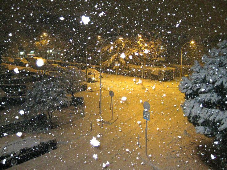 nieve en la ciudad | Cinco nevadas para recordar en España