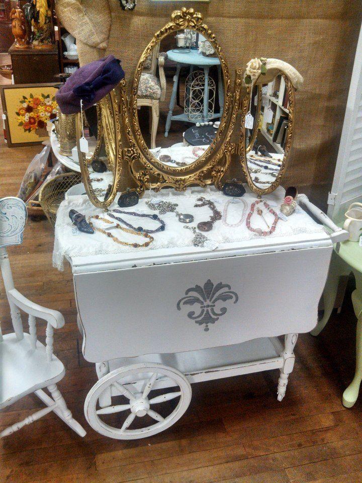 Antique Tea Cart-$85.00
