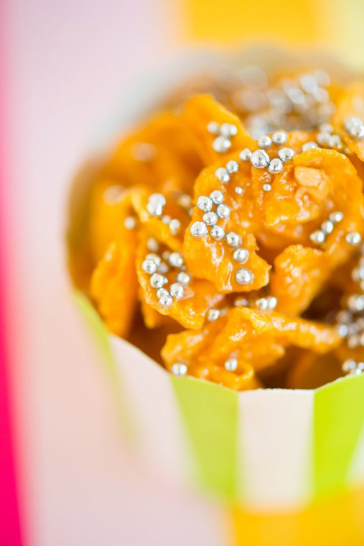 Make your Cornflakes colourful with these Honey Joys!