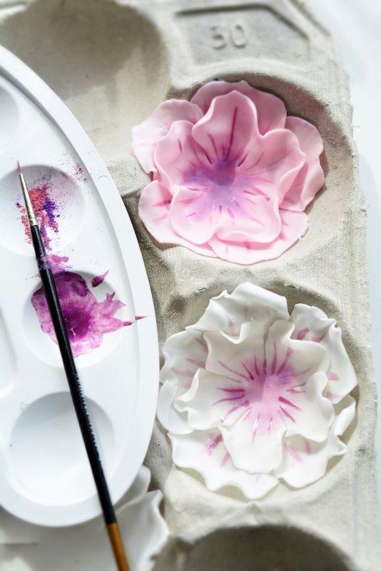 Kessy's Pink Sugar: Muttertags Blüten Torte