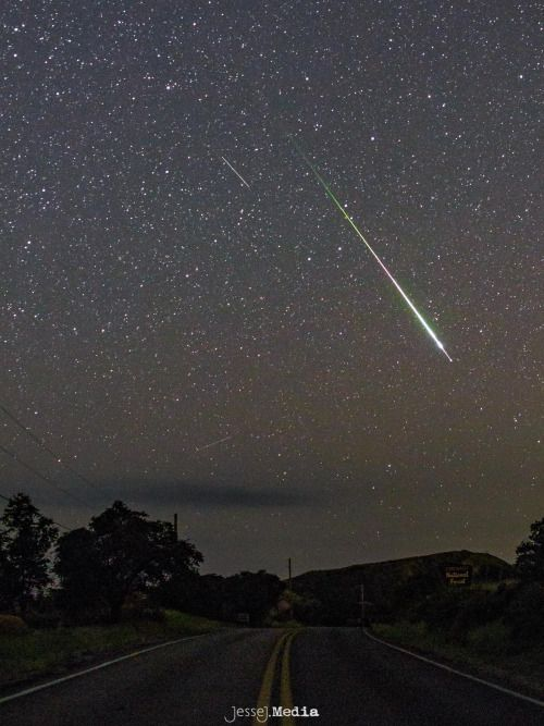 Biggest and Brightest from Perseid Meteor Shower 2016 in...
