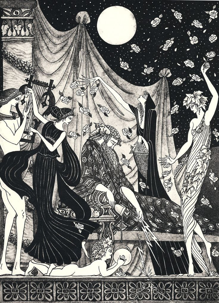 9 best Edmund Dulac Cupid and Psyche images on Pinterest ...