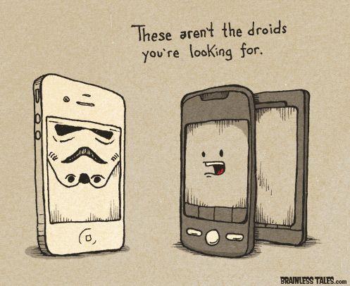 Jedi Android  #cartoon #comictstrip #fanart #starwars