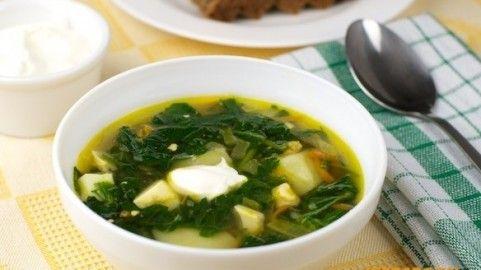 Borsch verde, Típica cocina ucraniana: recetas, fotos, información.