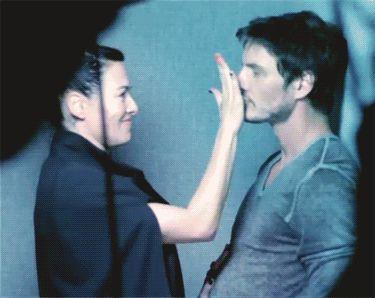 melissa-blogs:  Pedro Pascal & Lena Headey for HungerTV