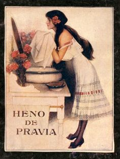 Publicidad antigua de perfumes y cosméticos -